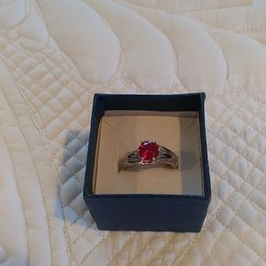 NWOT LAB CREATED ruby ring
